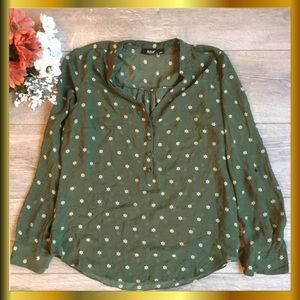 ANA (A New Approach) Long Sleeved Blouse, MED